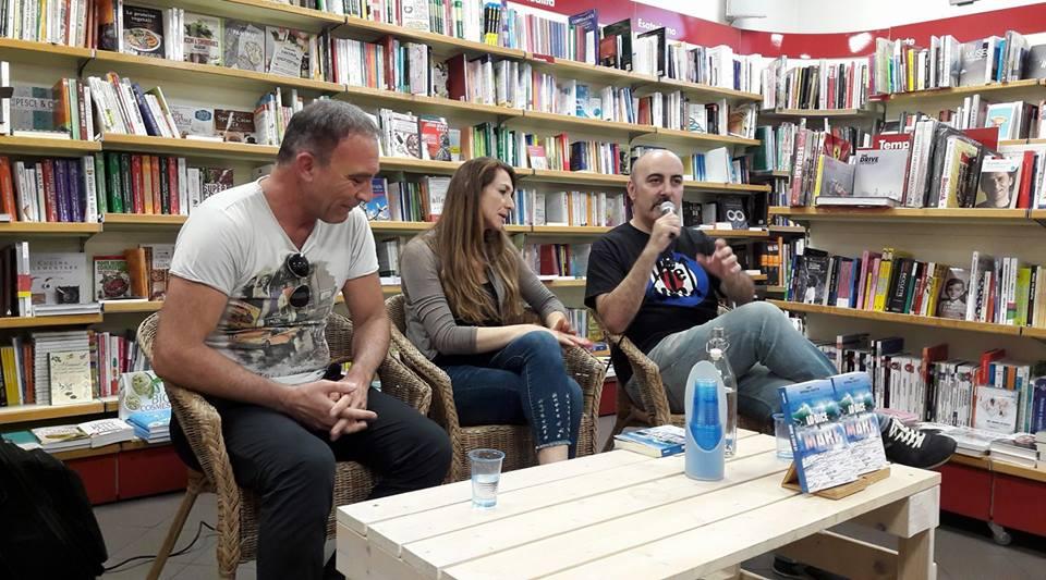 Presentazione dell'antologia Lo dice il mare a cura di Barbara Panetta e targata Il Foglio Edizioni
