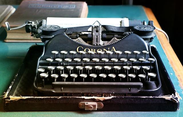 typewriter-1603999_640