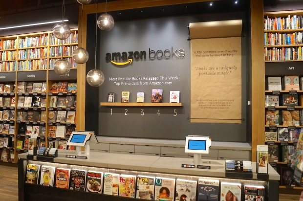 Amazon books negozio