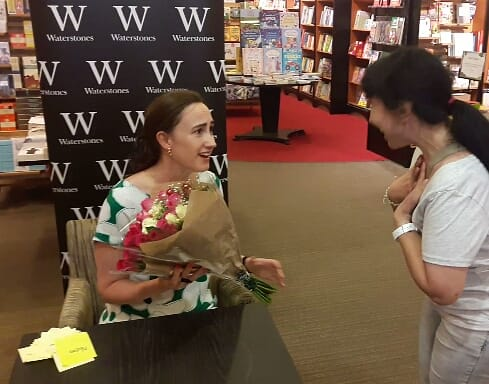 A dream to meet Sophie Kinsella.