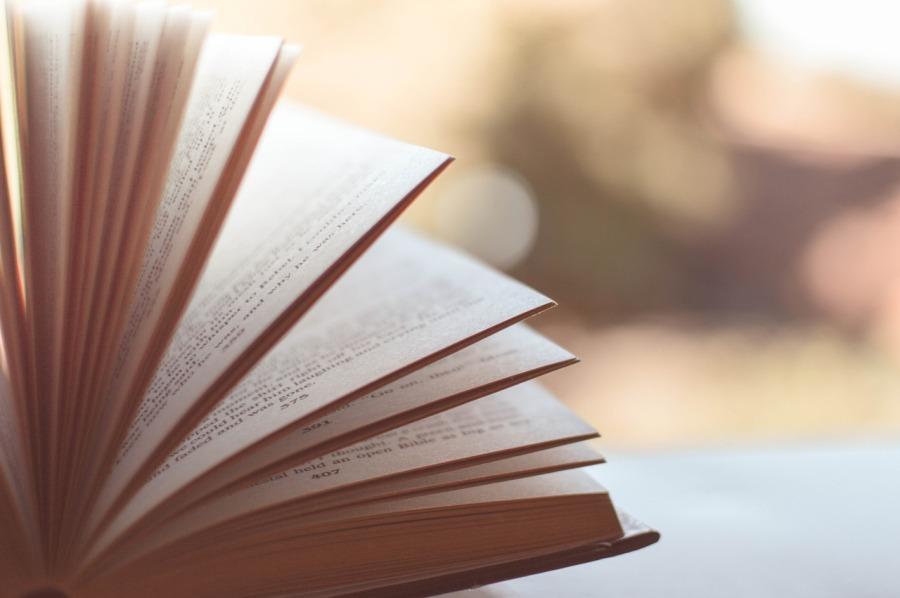 bello sfogliare i libri